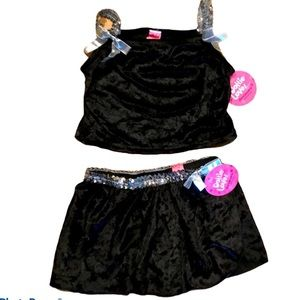 New with Tags Girl's Dance Costume 7/8